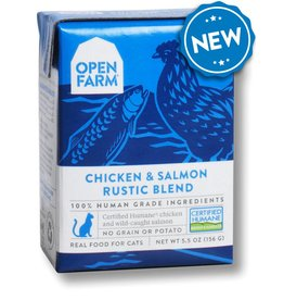 Open Farm OPEN FARM Cat Stew Chicken & Salmon 5.5oz CASE/12