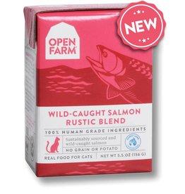 Open Farm OPEN FARM Wild Caught Rustic Blend for Cats Salmon 5.5oz CASE/12
