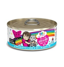 Weruva BFF OMG Duck & Tuna Lots-O-Luck Canned Cat Food Case
