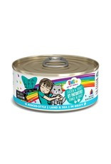 Weruva BFF OMG Chicken & Turkey QT Patootie Canned Cat Food Case