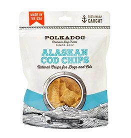 POLKA DOG POLKA DOG Cod Chips 3.5 oz