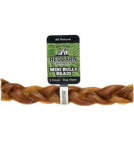REDBARN REDBARN Natural Mini Braided Bully Stick