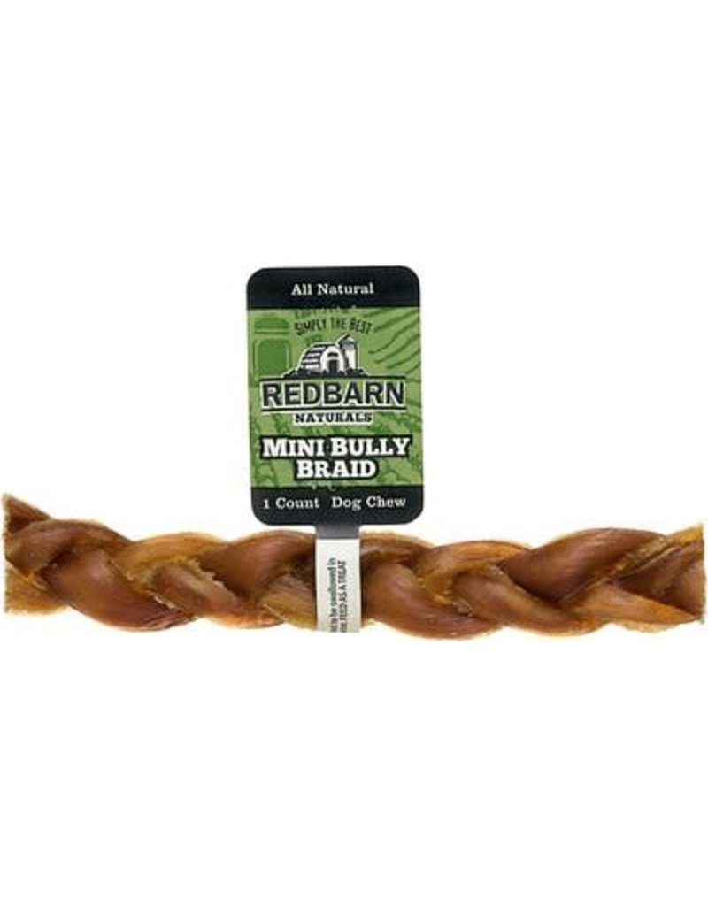 RED BARN RED BARN Natural Mini Braided Bully Stick