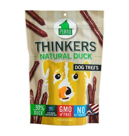 Plato Pet Treats PLATO Thinkers Dog Treats in Duck