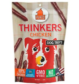 Plato Pet Treats PLATO Thinkers Dog Treats in Chicken