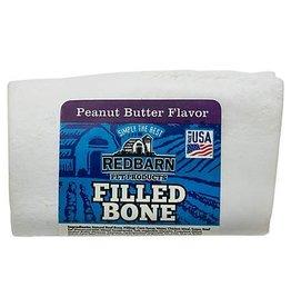 REDBARN REDBARN Filled Bone Peanut Butter 3in