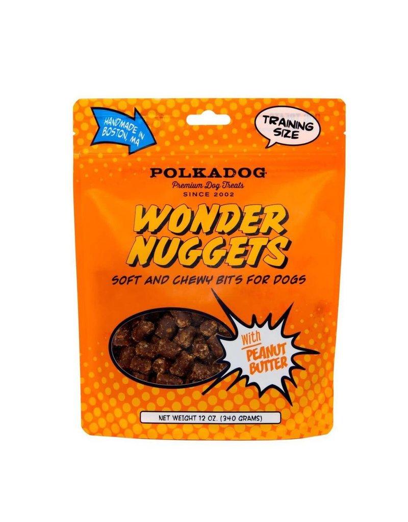 POLKA DOG POLKA DOG Wonder Nuggets Treats Peanut Butter 12oz
