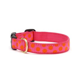 UP COUNTRY UP COUNTRY Pink Orange Dots Collar