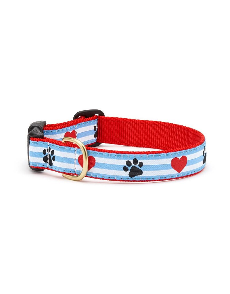 UP COUNTRY UP COUNTRY Pawprint Stripe Collar