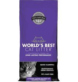Worlds Best Cat Litter WORLDS BEST Clumping Lavender Scented Multi Cat Litter