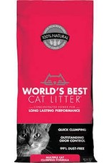 Worlds Best Cat Litter WORLDS BEST Clumping Unscented Multi-Cat Litter