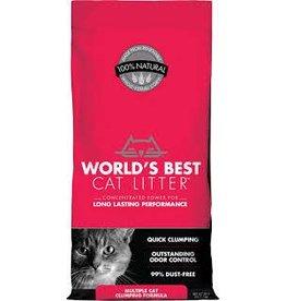 Worlds Best Cat Litter WORLDS BEST Clumping Unscented Multi-Cat Litter