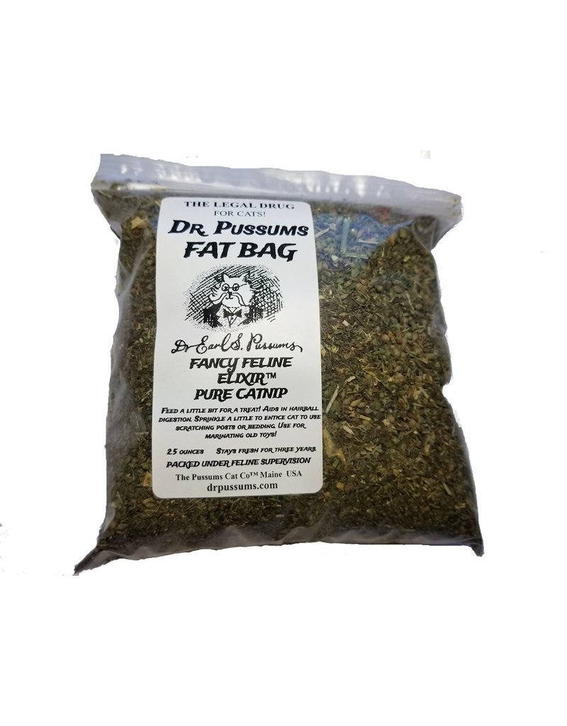 Pussums Cat Co. Llc Dr. Pussums Fat Bag Catnip