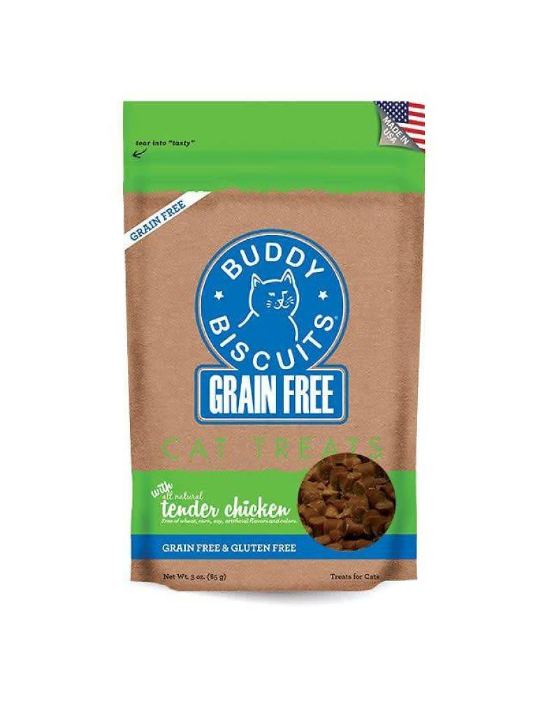 Buddy Biscuit BUDDY BISCUIT Grain-Free Soft Chicken Cat Treats 3 oz.
