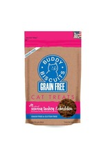 Buddy Biscuit BUDDY BISCUIT Grain-Free Soft Turkey & Cheddar Cat Treats 3 oz.