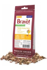 BRAVO! Pet Food !BRAVO! Freezedried Chicken & Organ Cat Treat 1.5OZ