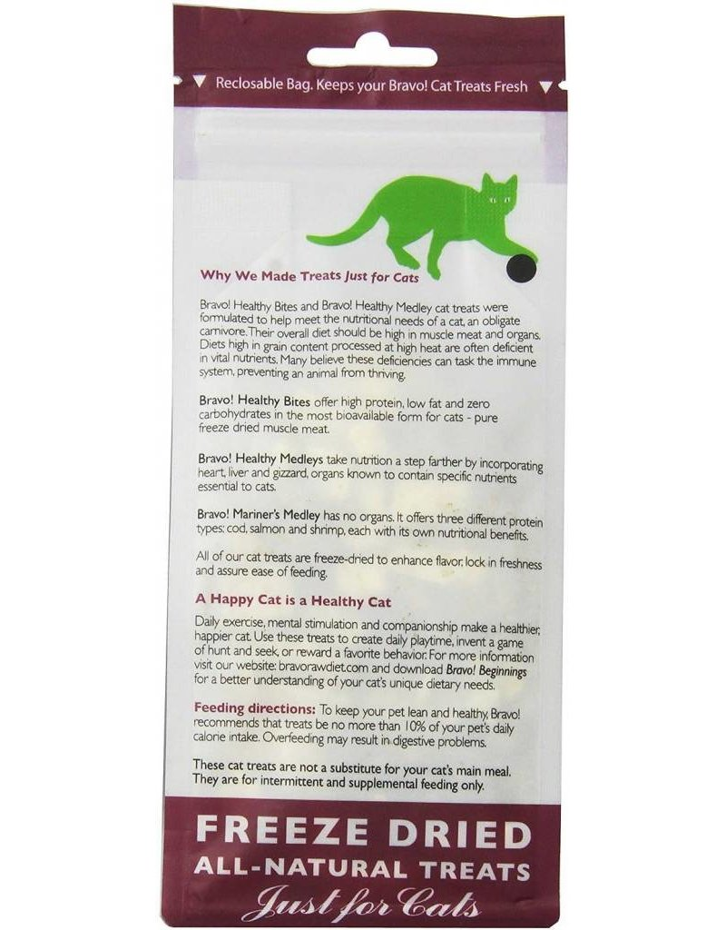 BRAVO! Pet Food BRAVO! Freezedried Chicken & Organ Cat Treat 1.5OZ