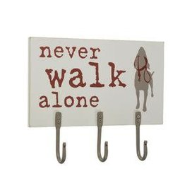Dog is Good DOG IS GOOD Never Walk Alone Hook Board