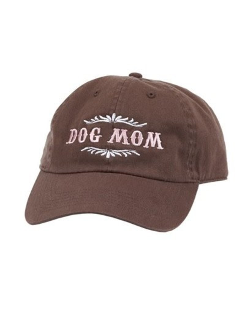 SPOILED ROTTEN DOGZ Dog Mom Hat Brown