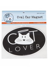 Dog is Good DOG IS GOOD Cat Lover Car Magnet