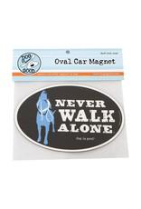 Dog is Good DOG IS GOOD Never Walk Car Magnet