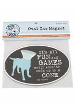 Dog is Good DOG IS GOOD Fun and Games Car Magnet