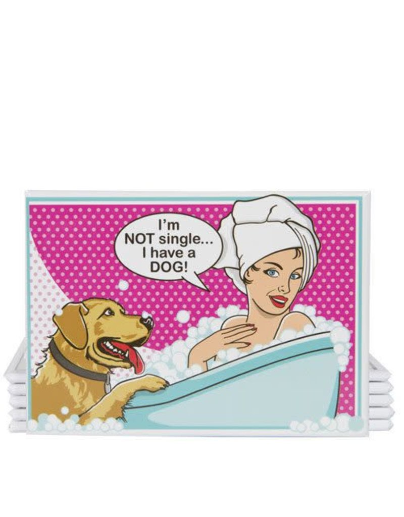 Dog is Good DOG IS GOOD I'm Not Single Magnet