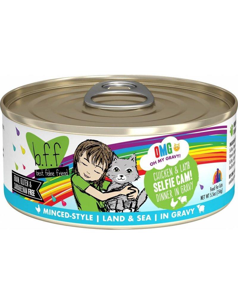Weruva BFF BFF OMG Chicken & Lamb Selfie Cam Canned Cat Food Case