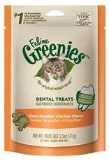 GREENIES GREENIES Feline Chicken Formula Dental Treats