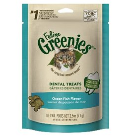 GREENIES !GREENIES Feline Ocean Fish Formula Dental Treats