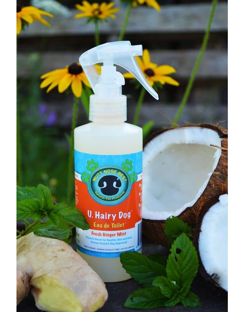Mutt Nose Best !MUTT NOSE BEST U Hairy Dog Spray 8oz