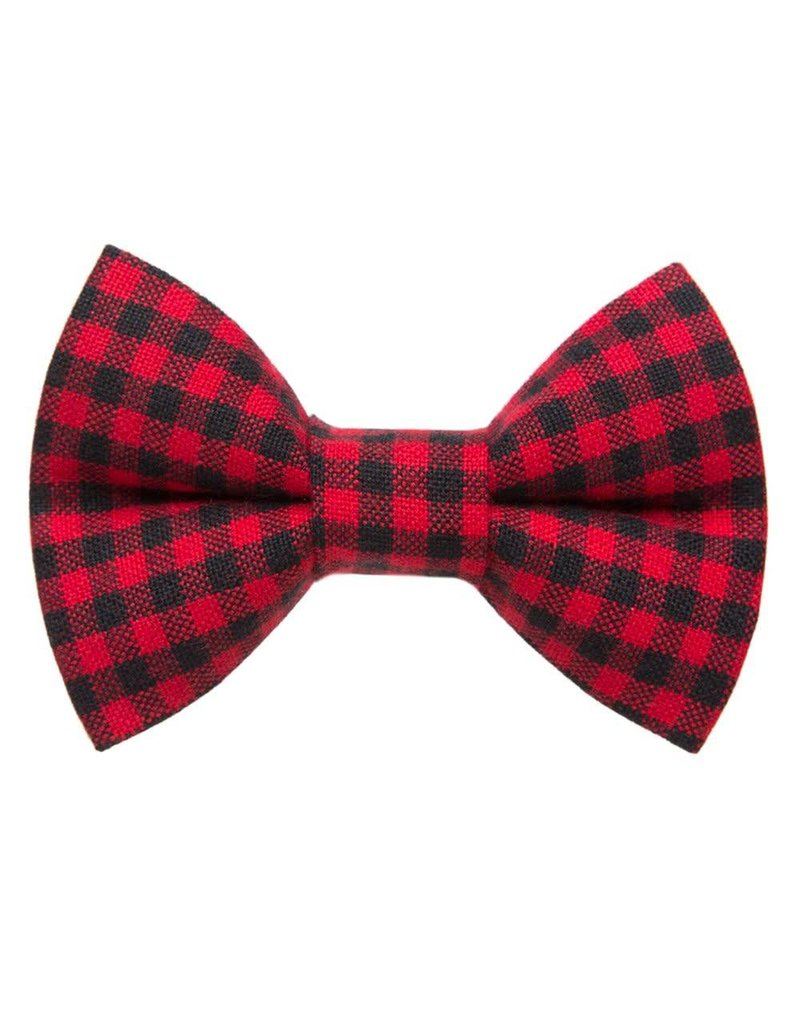 "SWEET PICKLES DESIGNS ""Lumberjack"" Bow Tie for Cats"