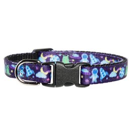 "SWEET PICKLES DESIGNS ""Spaced Out"" Cat Collar"