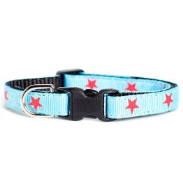 "SWEET PICKLES DESIGNS ""The All American"" Cat Collar"