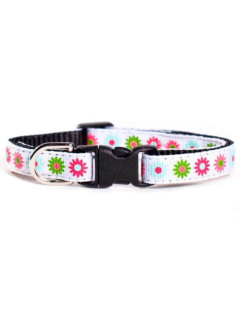 "SWEET PICKLES DESIGNS ""Flower Shower"" Cat Collar"