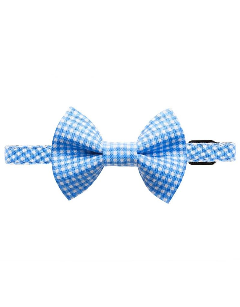 """SWEET PICKLES DESIGNS """"Weekend at Oz"""" Cat Collar & Removable Bow Tie"""