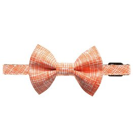 "SWEET PICKLES DESIGNS ""The Firecracker"" Cat Collar & Removable Bow Tie"