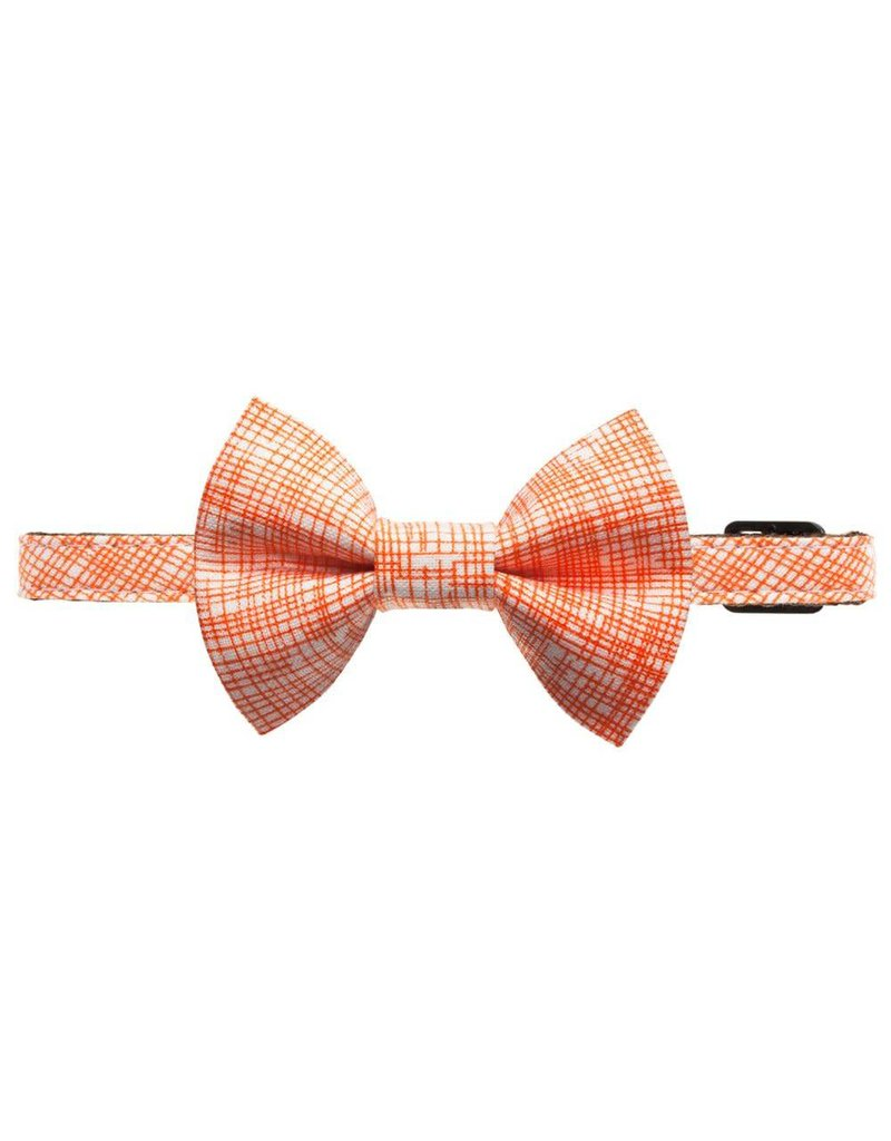 """SWEET PICKLES DESIGNS """"The Firecracker"""" Cat Collar & Removable Bow Tie"""
