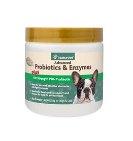 NATURVET Naturvet Dog & Cat Probiotics Advanced PB6 Enzymes Powder