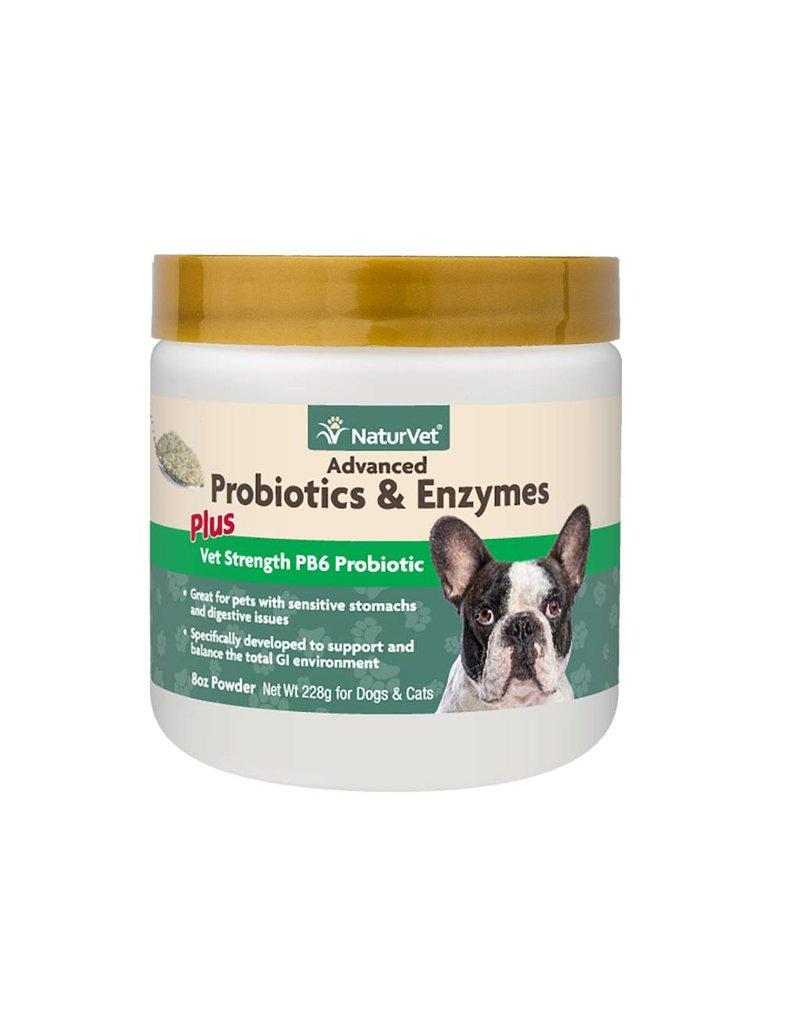 NATURVET Naturvet Dog & Cat Probiotics Advanced PB6 Enzymes Powder