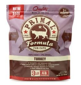 Primal Pet Foods PRIMAL Frozen Raw Feline Turkey Formula 3 lb.