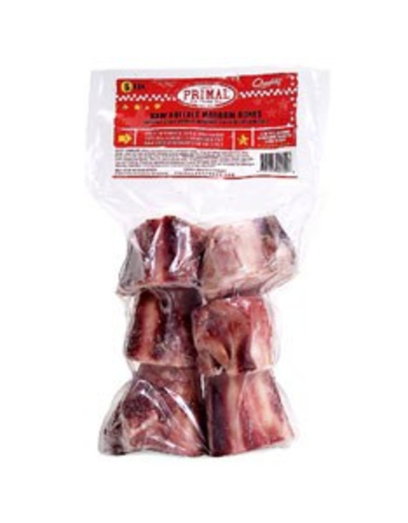 Primal Pet Foods PRIMAL Frozen Raw Buffalo Marrow Bone 2 in. 6 Pack