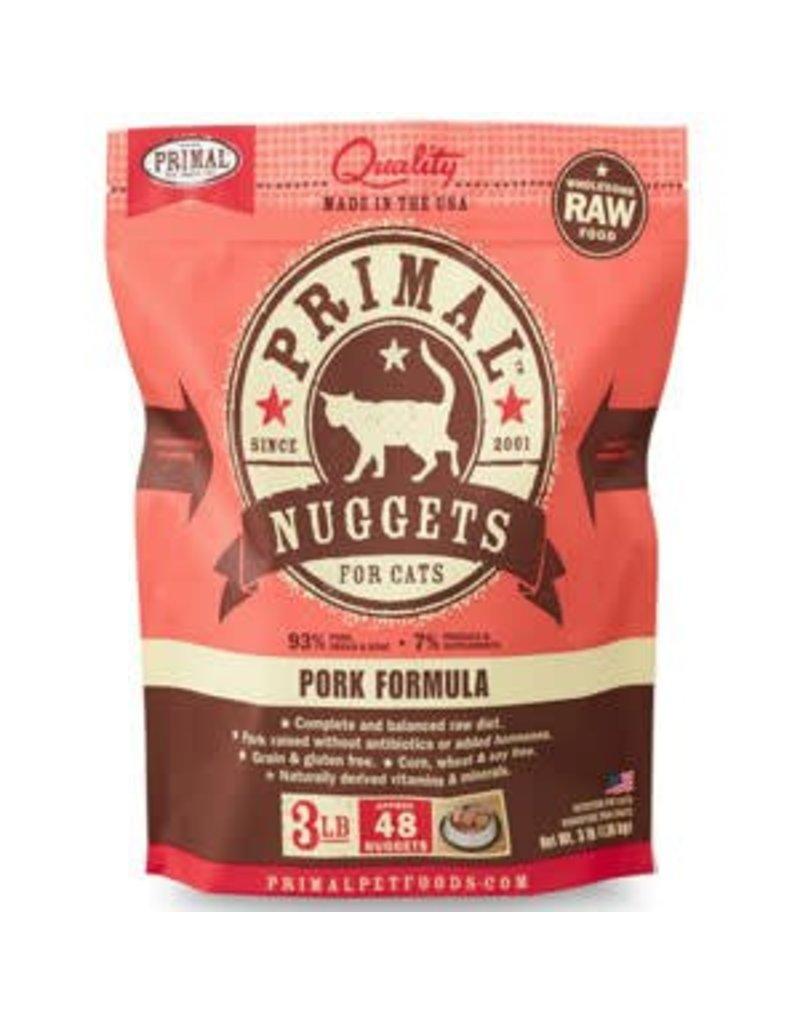 Primal Pet Foods PRIMAL Frozen Raw Feline Pork Formula 3 lb.