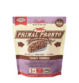 Primal Pet Foods PRIMAL Pronto Frozen Raw Feline Turkey Formula 1 lb.