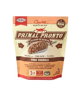 Primal Pet Foods PRIMAL Pronto Frozen Raw Feline Pork 1 lb.