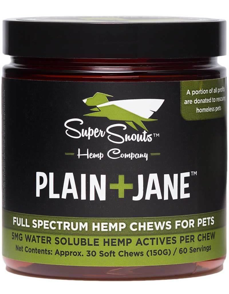 Super Snout Hemp SUPER SNOUTS Full Spectrum CBD Chew Plain + Jane