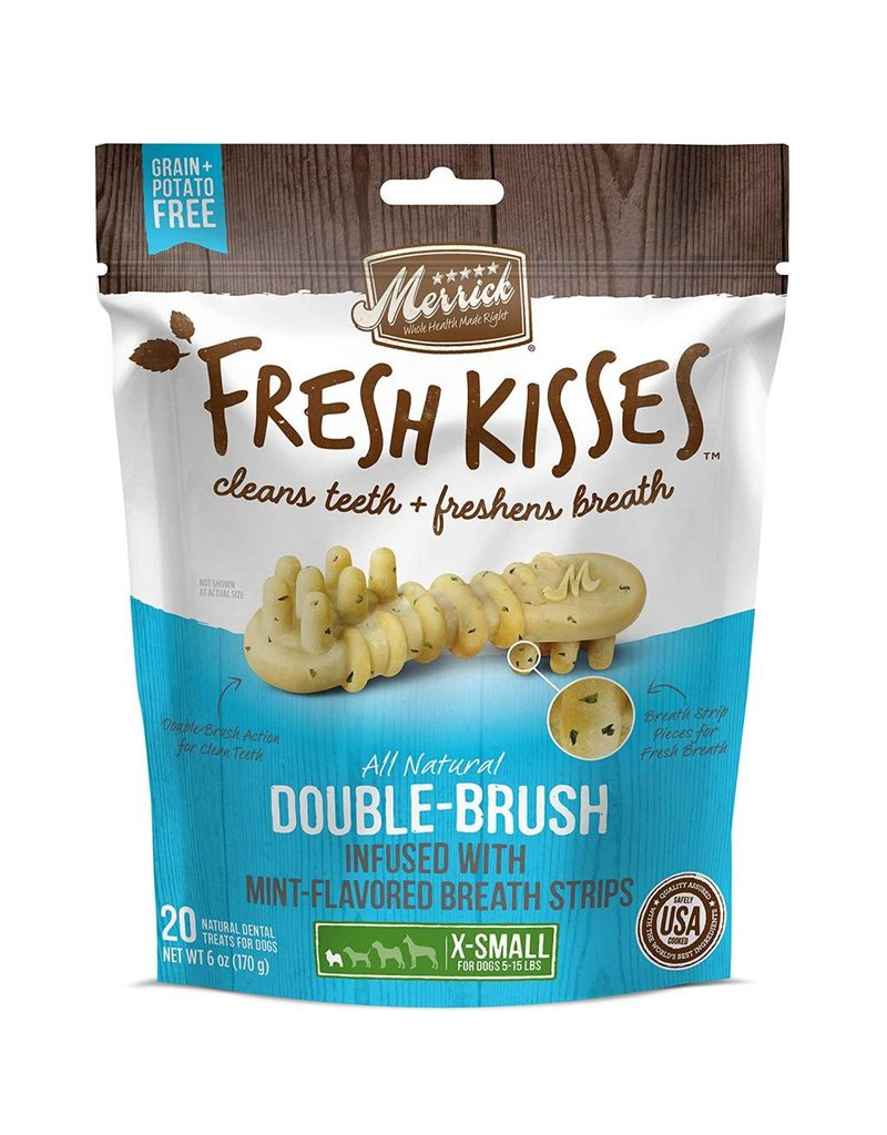 Merrick MERRICK Fresh Kisses with Mint Strips Extra Small