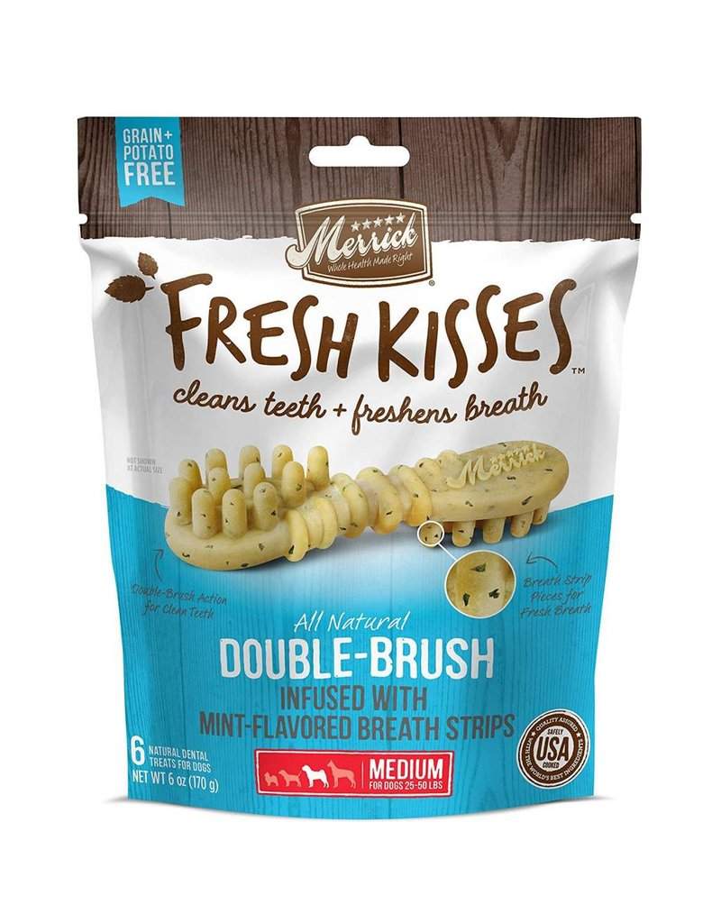 Merrick MERRICK Fresh Kisses Mint Strips Medium