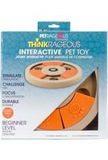 Petrageous THINKRAGEOUS Interactive Pet Toy Beginner