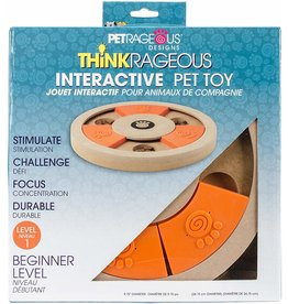 Petrageous THINKRAGEOUS Interactive Pet Toy Beginner